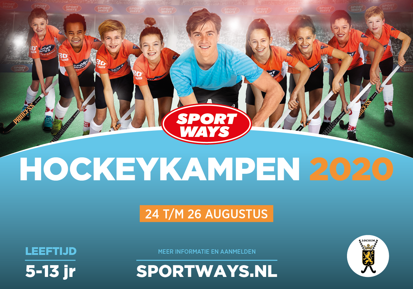 SportWays hockeykampen in 2020 op Lochem