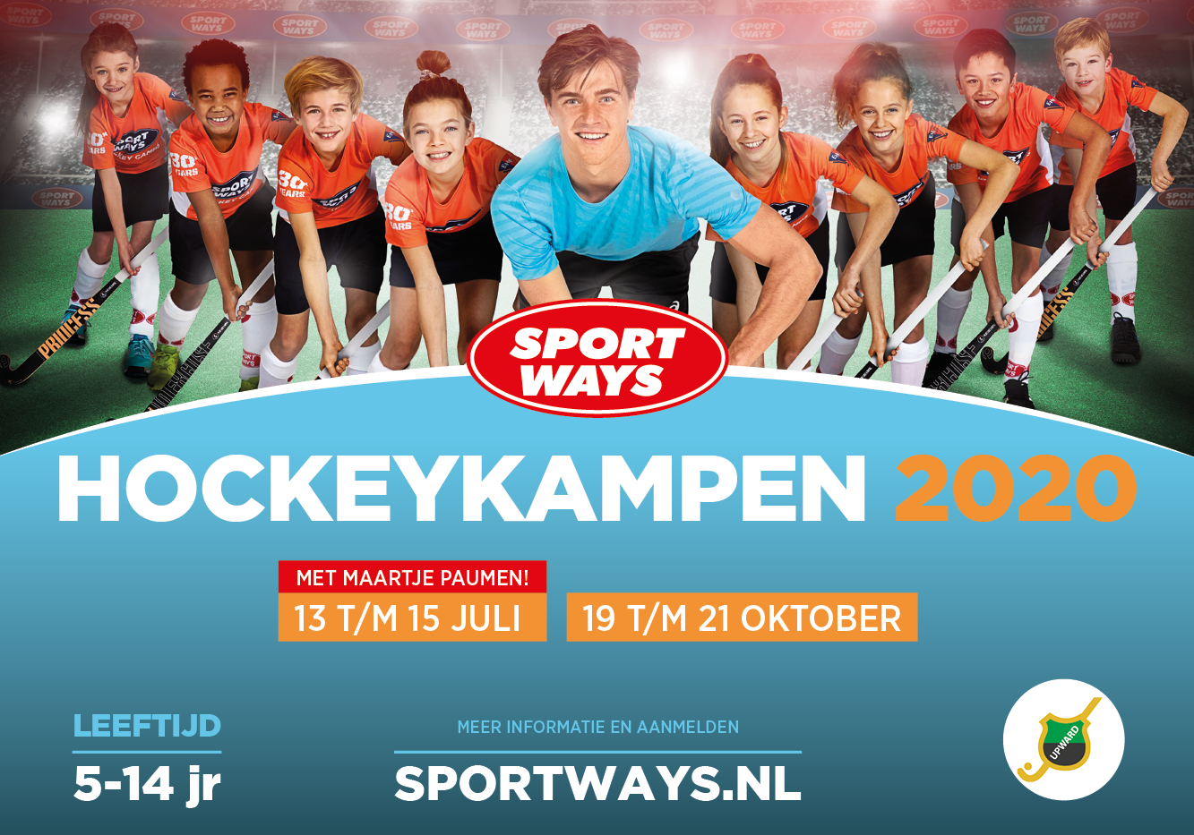 SportWays hockeykampen in 2020 op Upward