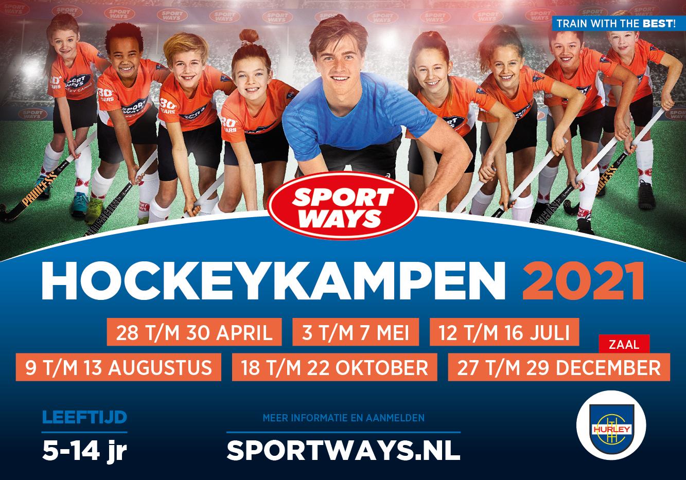 SportWays Hockeykampen op Hurley lente 2021