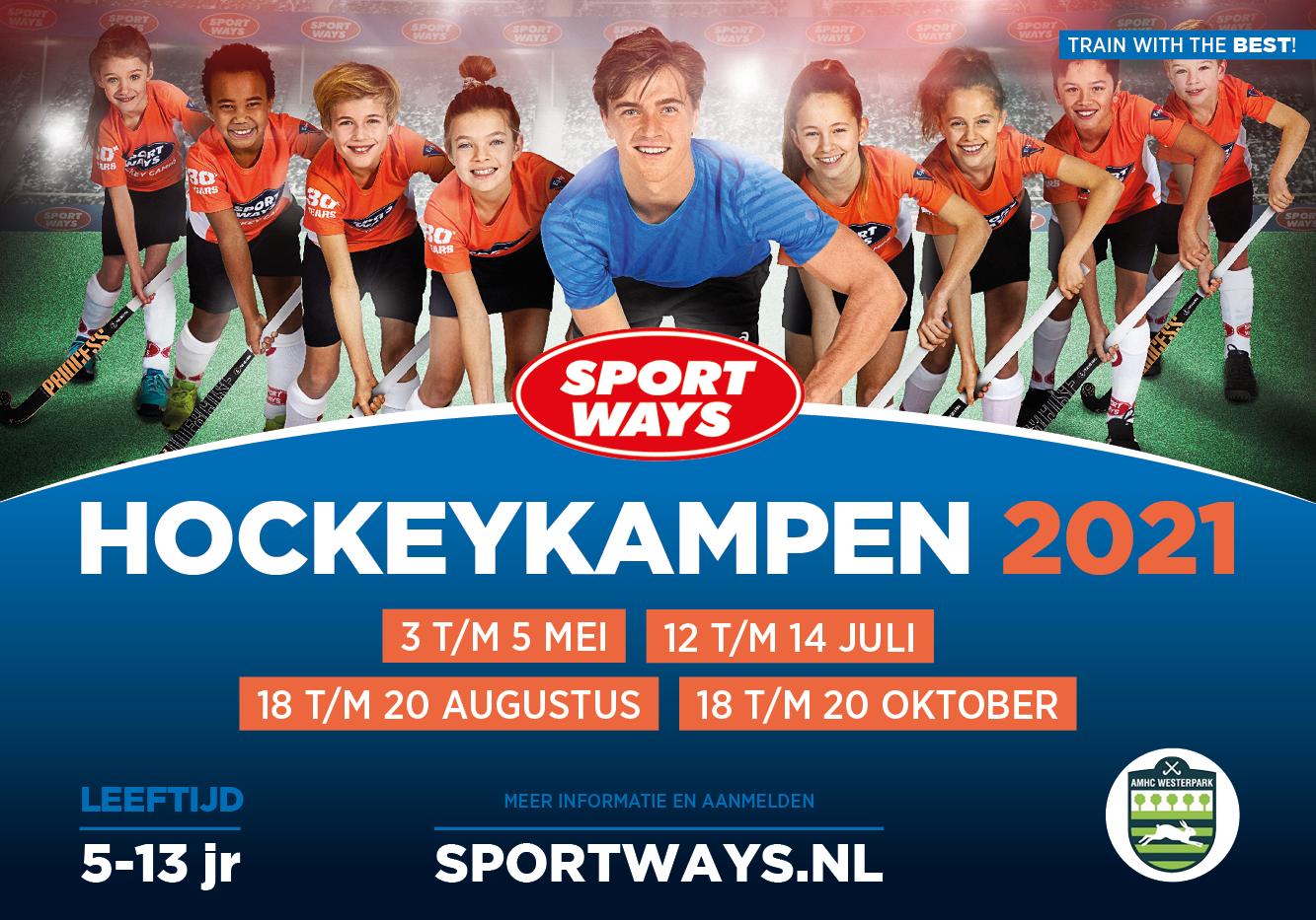 SportWays Hockeykampen op Westerpark lente 2021