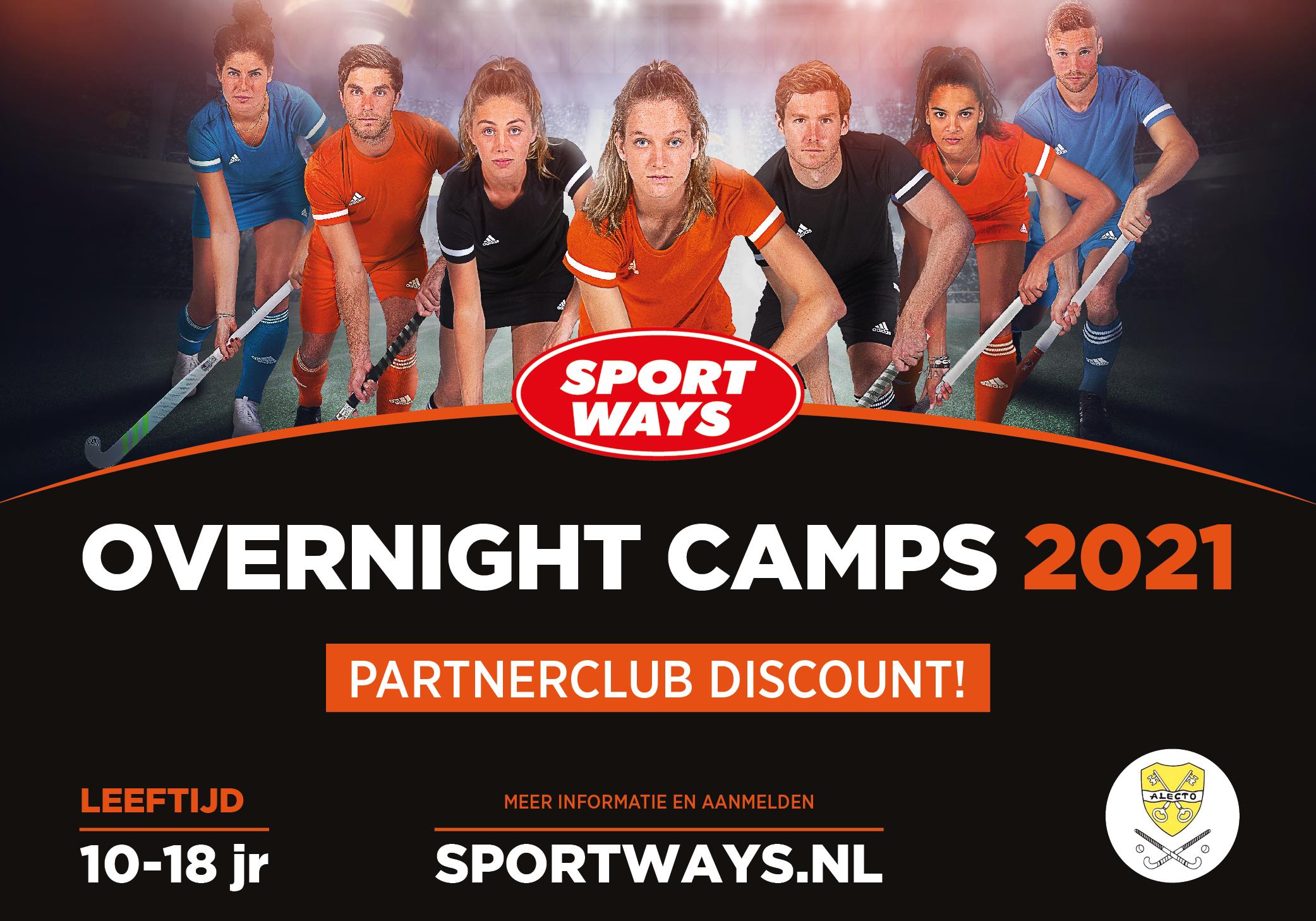 SportWays Overnachtingskampen in Amsterdam, Antwerpen en Barcelona